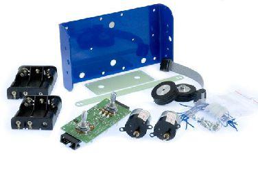 RoboSnake_KIT -kit modułu wieloczłonowego robota mobilnego