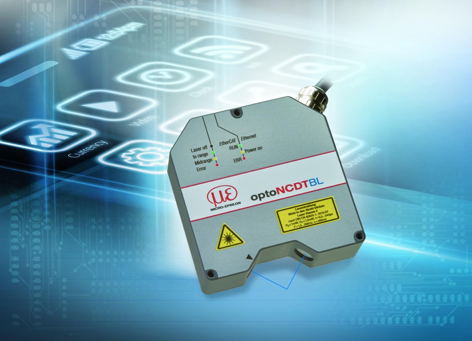 Czujnik laserowy optoNCDT 2300-2DR – doskonała kombinacja szybkości iprecyzji
