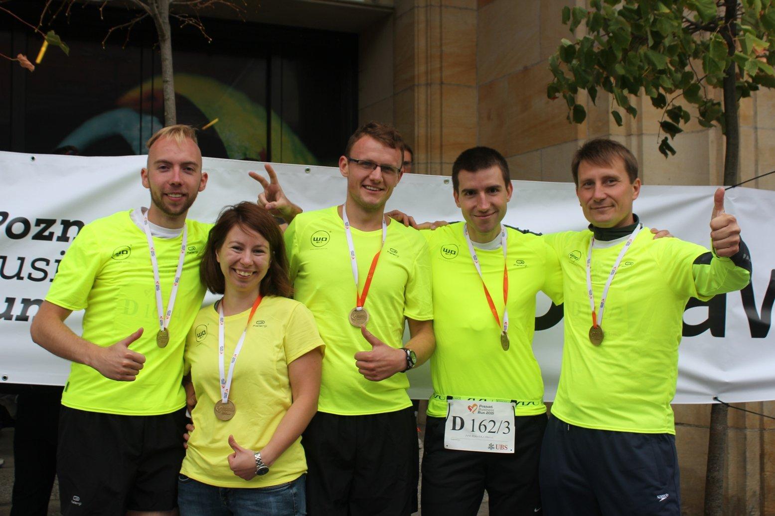 Dziękujemy zawsparcie podczas Poznań Business Run 2015!