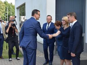 WObit gościł Premiera RPwswojej siedzibie