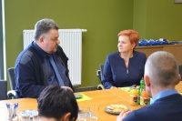 Wizyta delegacji zKościerzyny