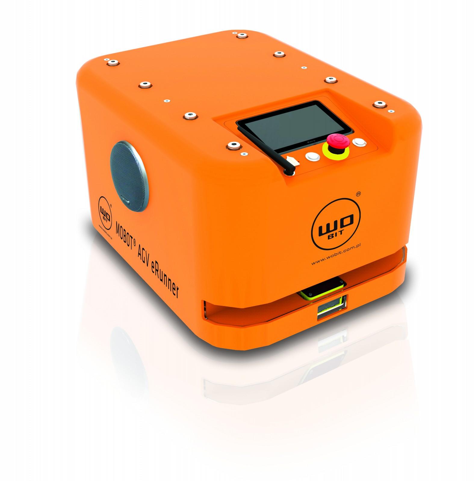 Nowy robot mobilny MOBOT® AGV eRunner