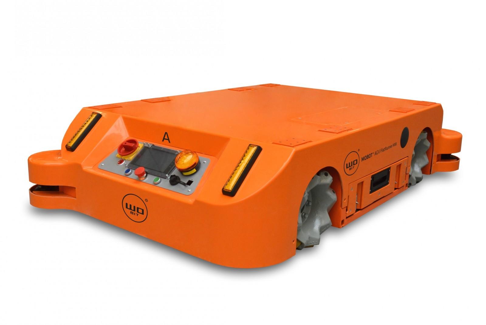 Nowy robot mobilny MOBOT® AGV FlatRunner MW