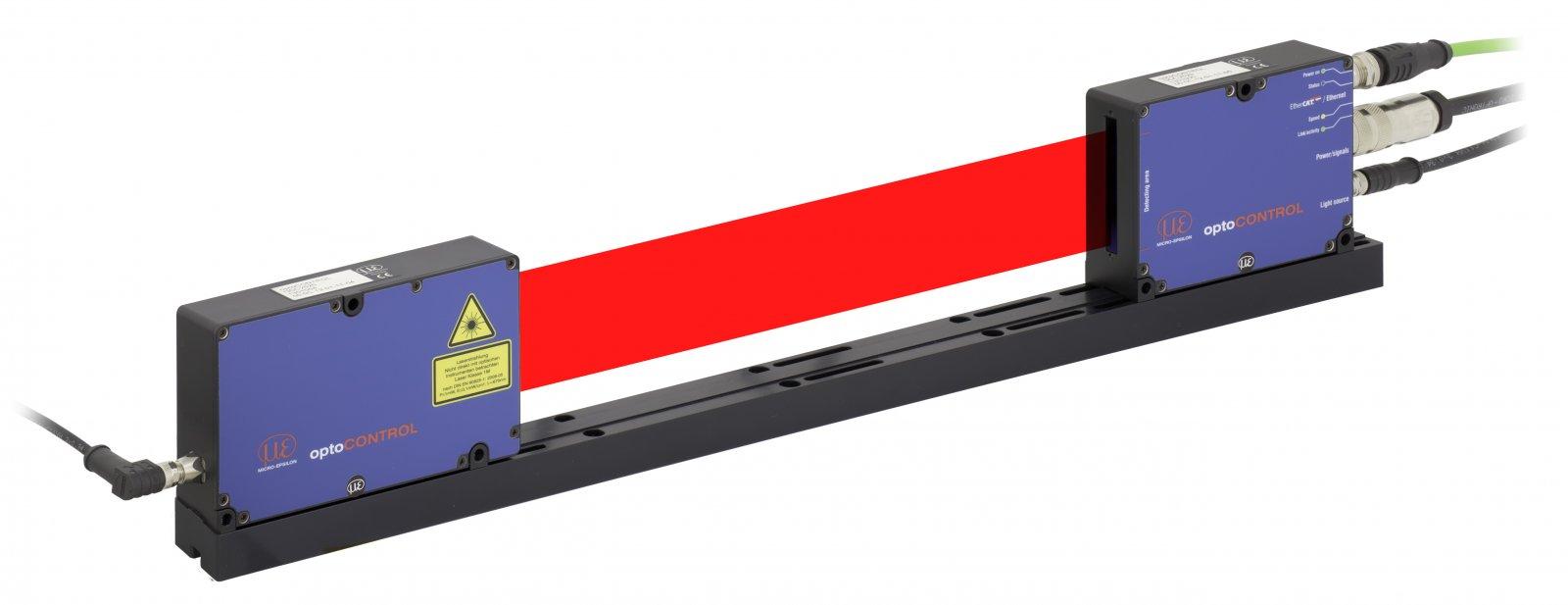 optoCONTROL 2520 - mikrometr laserowy zEthernetem