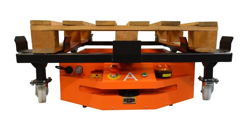 Optymalizacja produkcji dzięki robotom AGV firmy WObit