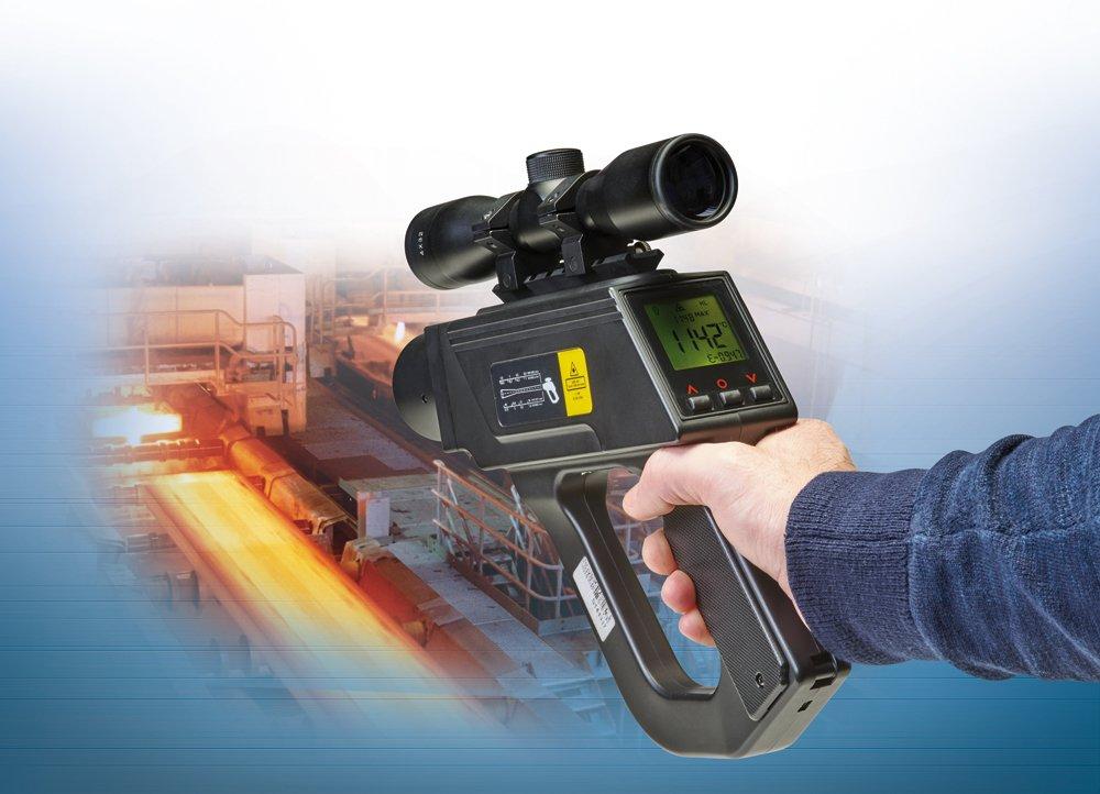 P20 - pirometry ręczne oszerokim zakresie spektralnym ipomiarowym