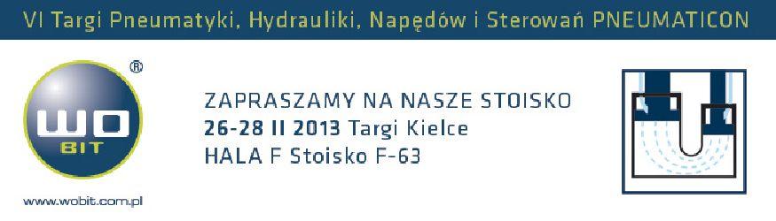 Zaproszenie natargi Pneumaticon 2013
