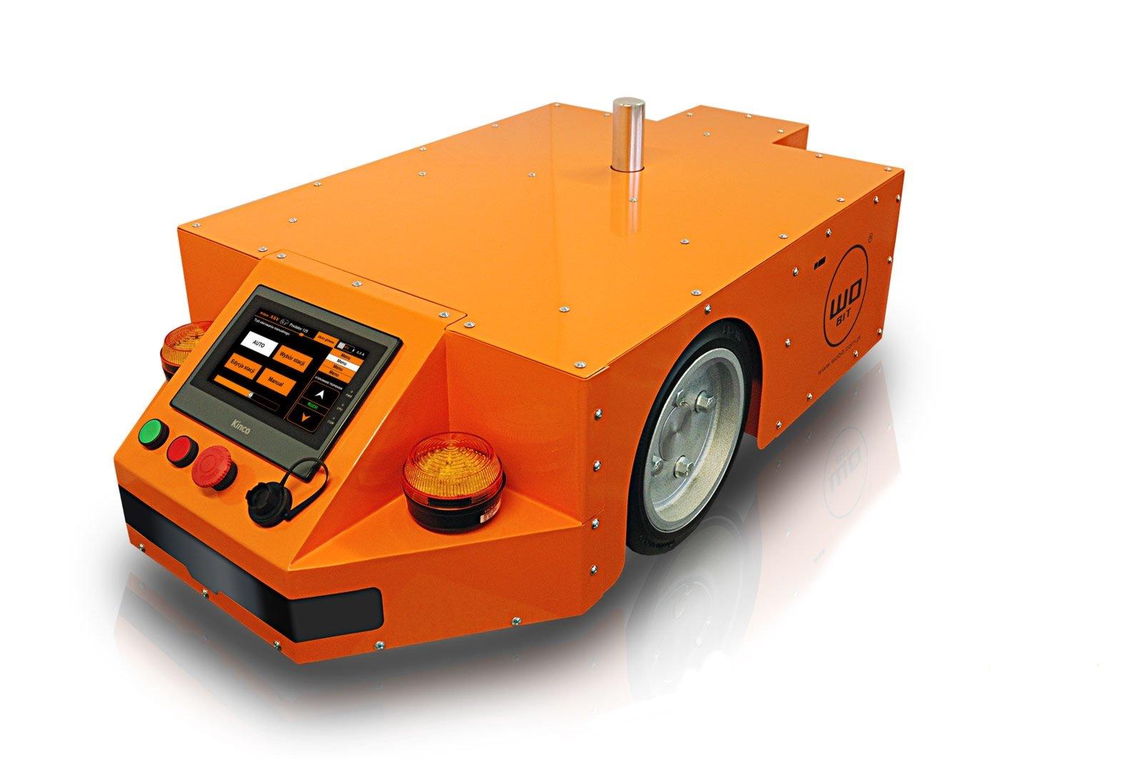 Robot AGV jako podstawa linii produkcyjnej