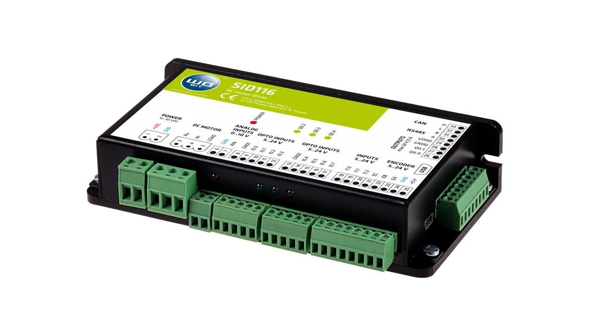 SID116 - DC motor controller