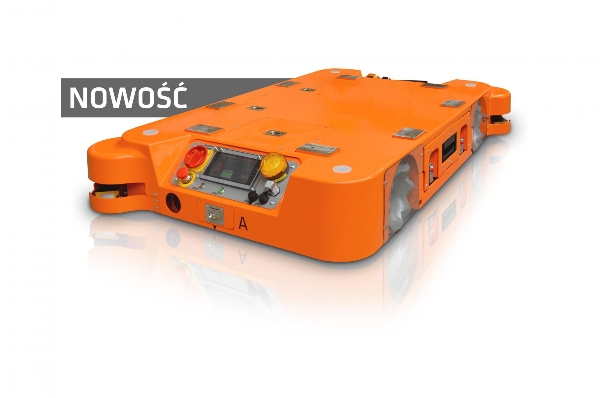 Transport ładunków do 1 tony z nowym robotem mobilnym WObit!