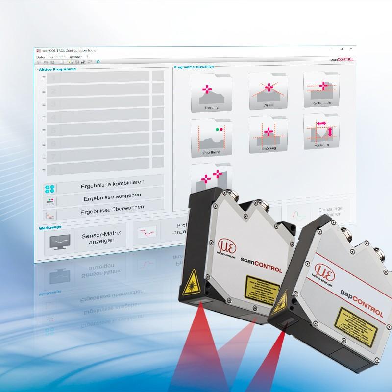 Z nowy oprogramowaniem Configuration Tools 6.1 doskanerów laserowych możliwy jest pomiar szczelin!