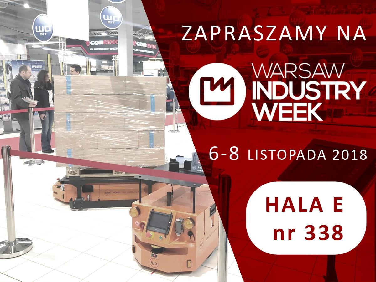 Zapraszamy natargi Warsaw Industry Week 2018