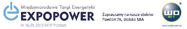 Zaproszenie natargi Expopower 2013