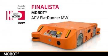 MOBOT AGV FlatRunner MWfinalistą konkursu Dobry Wzór 2019!